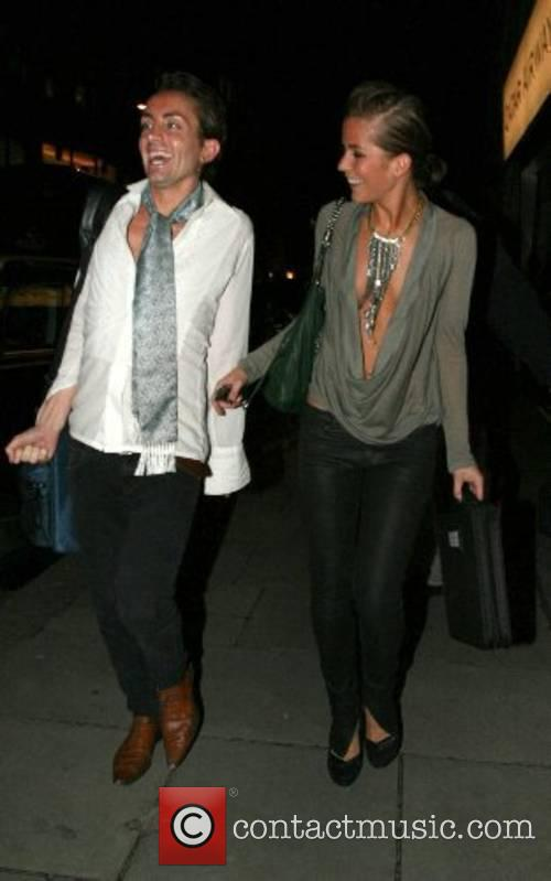 Kate Lawler leaving the Sketch Bar with a...