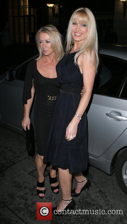 Karen Millen and Emma Noble Arriving At Sketch Nightclub 3