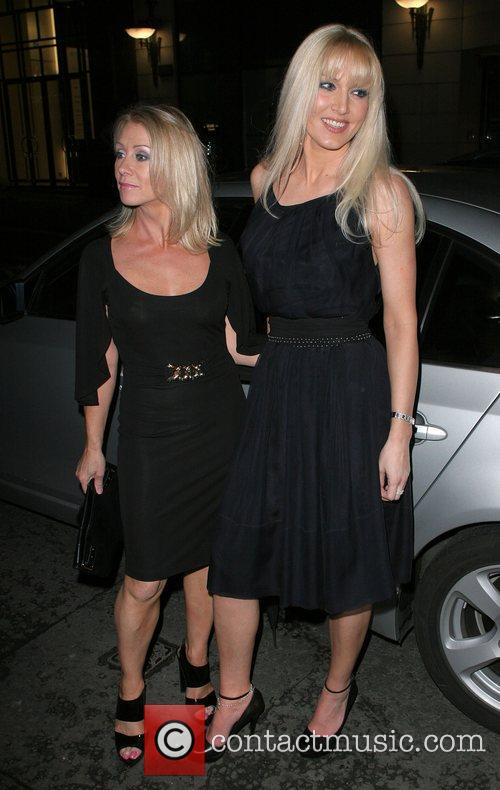 Karen Millen and Emma Noble Arriving At Sketch Nightclub 1