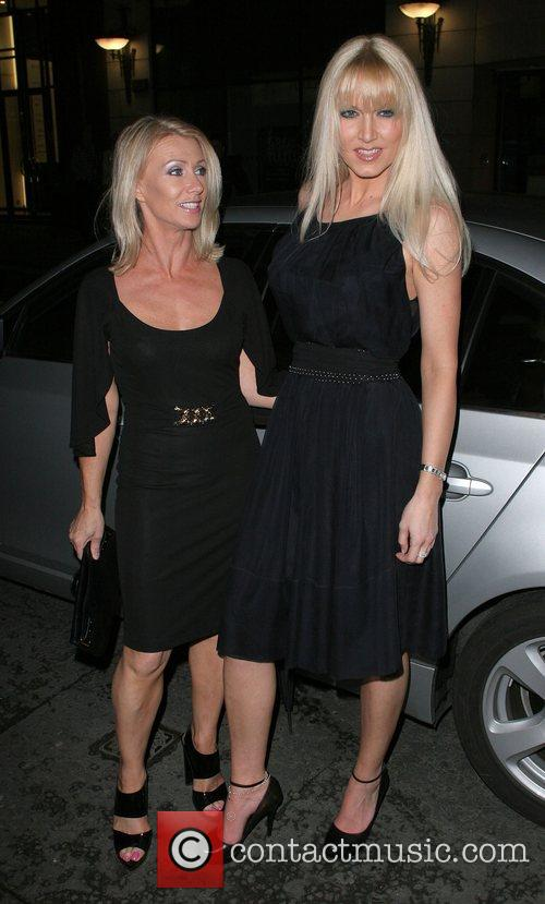 Karen Millen and Emma Noble Arriving At Sketch Nightclub 2