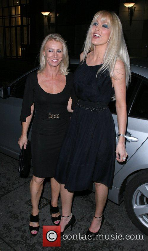 Karen Millen and Emma Noble Arriving At Sketch Nightclub 4