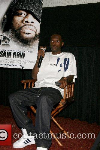 Pras Michel of the Fugees New York Premiere...