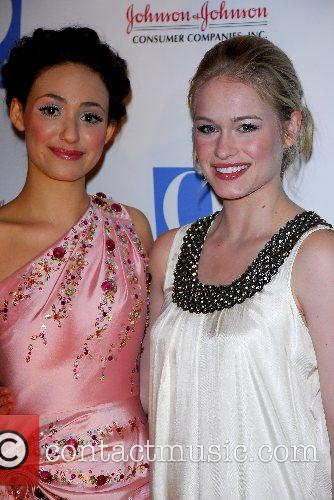 Emmy Rossum and Leven Rambin 6