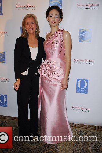 Meredith Vieira and Emmy Rossum The Skin Cancer...