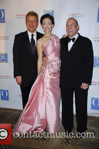 Mike Jerrick, Emmy Rossum and Dr. Neil Sadick...