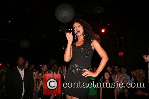 Mya performing Skool'd event at Sol co-sponsored by...