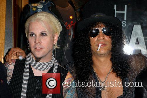 John Five and Slash  Slash and iconic...