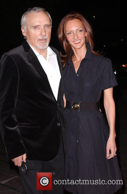 Dennis Hopper and Victoria Duffy LA Premiere of...