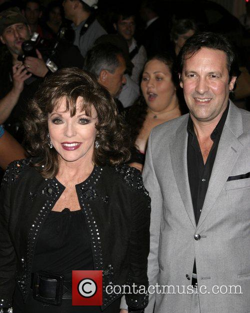 Joan Collins and Husband Percy Gibson 4