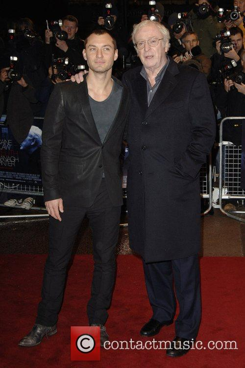 Jude Law and Michael Caine 11