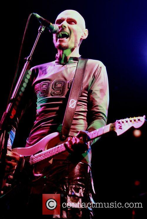 Smashing Pumpkins perform at the Nottingham Arena as...
