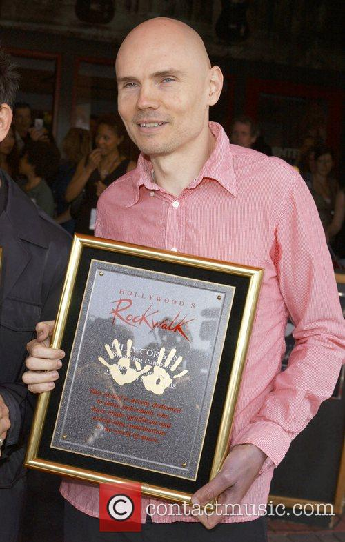 Billy Corgan The Smashing Pumpkins get inducted into...