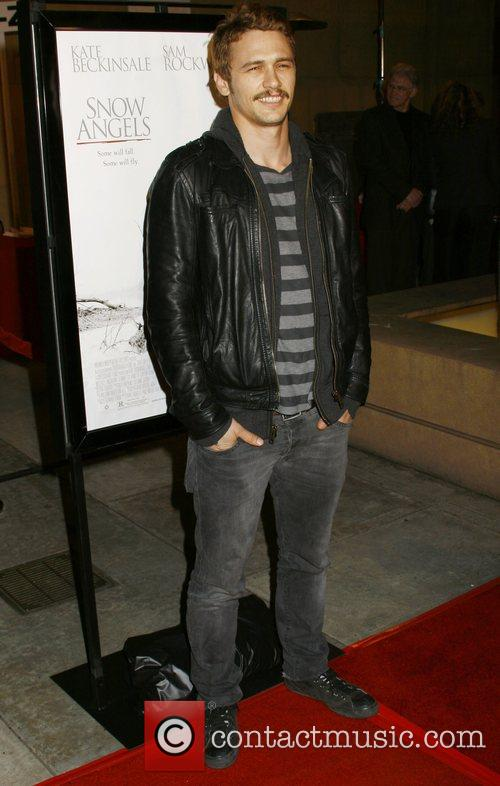 James Franco Los Angeles premiere of 'Snow Angels'...