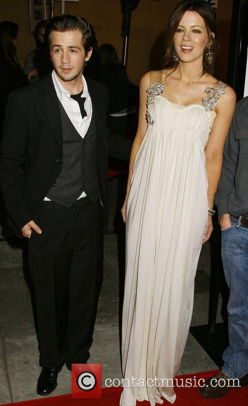 Michael Angarano and Kate Beckinsale Los Angeles premiere...