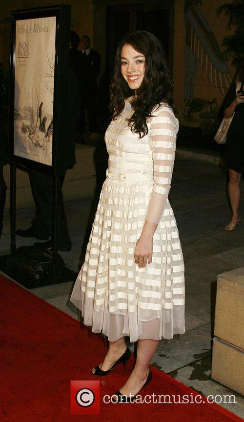 Olivia Thirlby Los Angeles premiere of 'Snow Angels'...