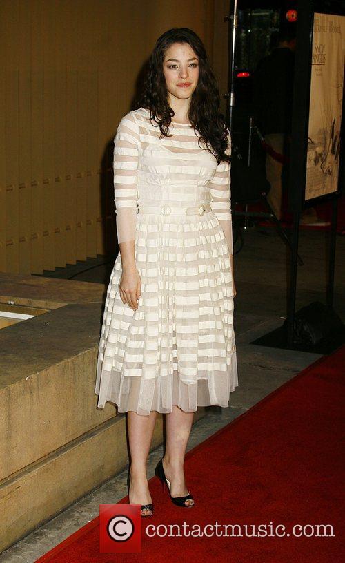 Los Angeles premiere of 'Snow Angels' held at...