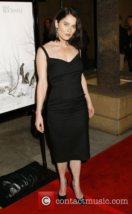 Robin Tunney Los Angeles premiere of 'Snow Angels'...