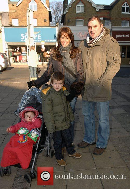 Andrea Mclean, Steve Toms, Amy Toms and Finlay Green 2