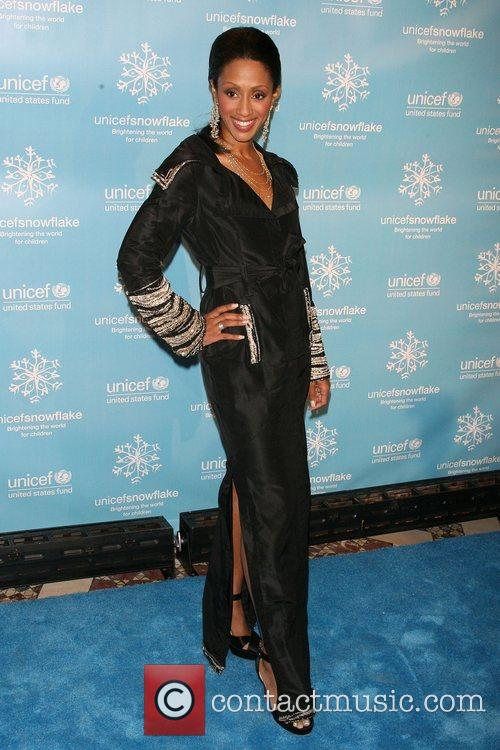 Malaak Rock The 2007 UNICEF Snowflake Ball at...