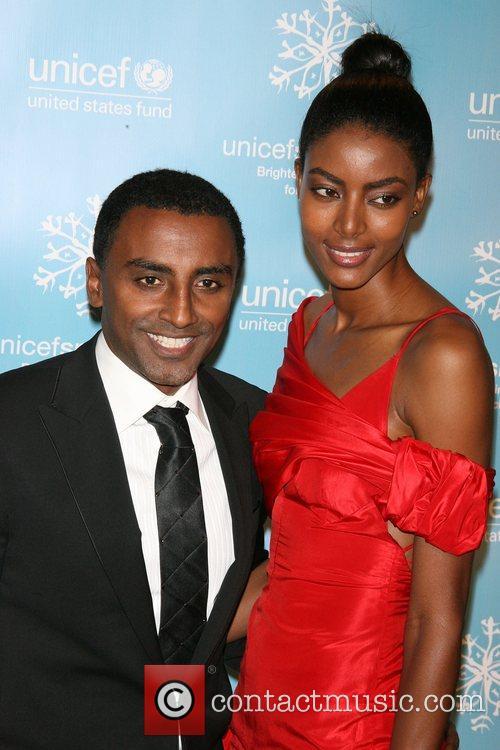 Marcus Samualsson, Wife The 2007 UNICEF Snowflake Ball...