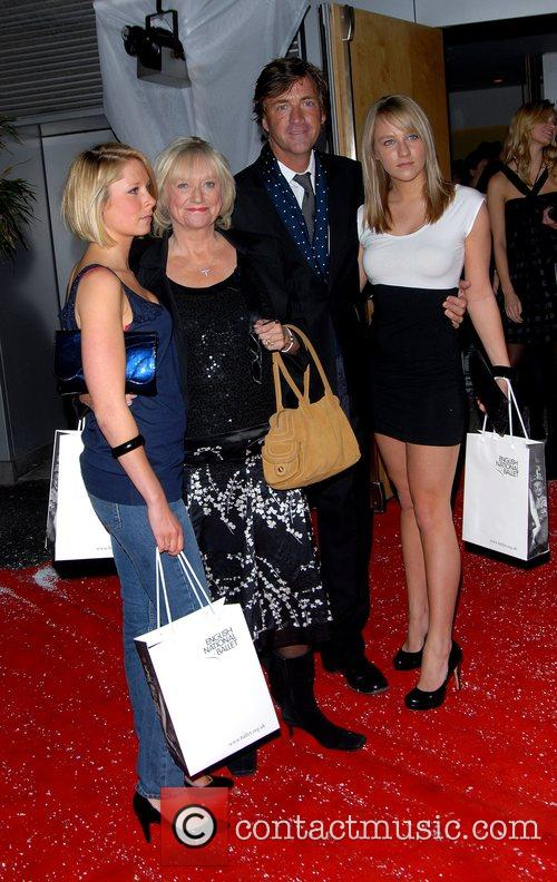 Judy Finnigan, Richard Madeley and Chloe Madeley English...