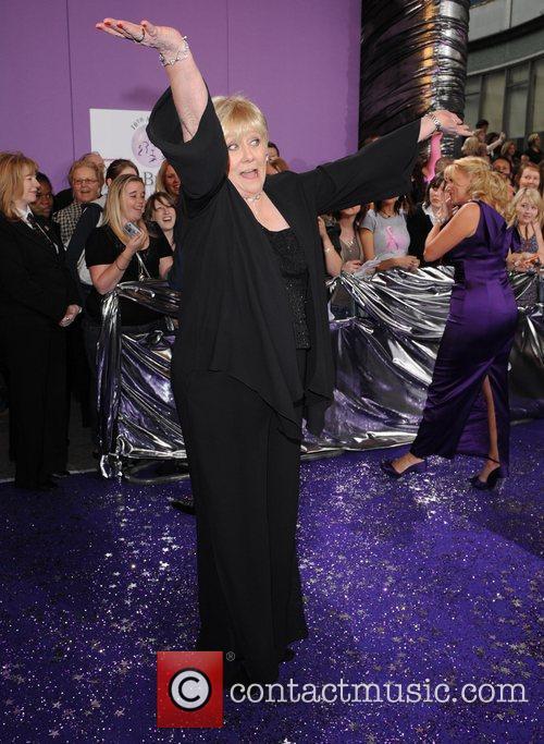 Liz Dawn The Soap Awards at the BBC...