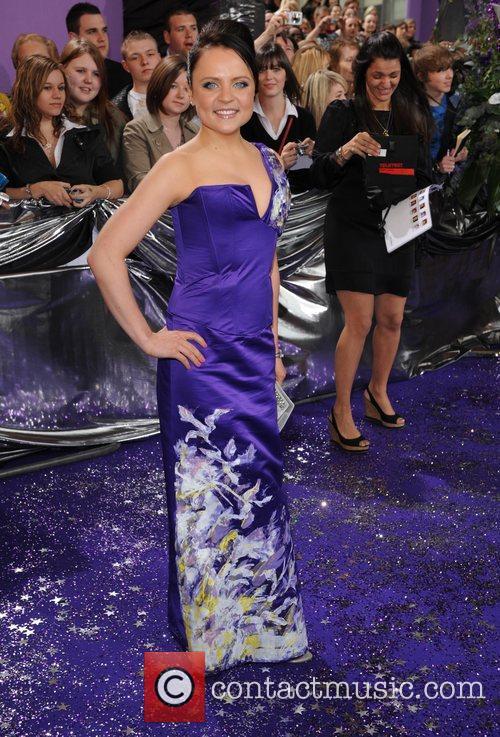 Vicky Binas The Soap Awards at the BBC...