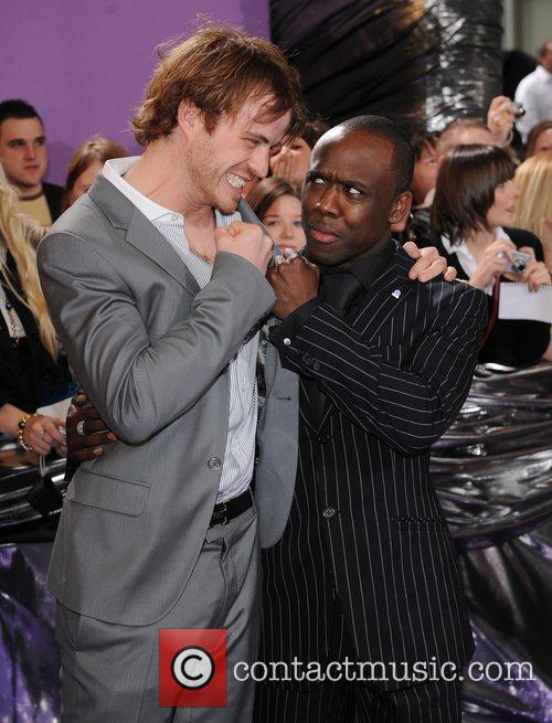 Robert Kazinsky and Mohammed George The Soap Awards...