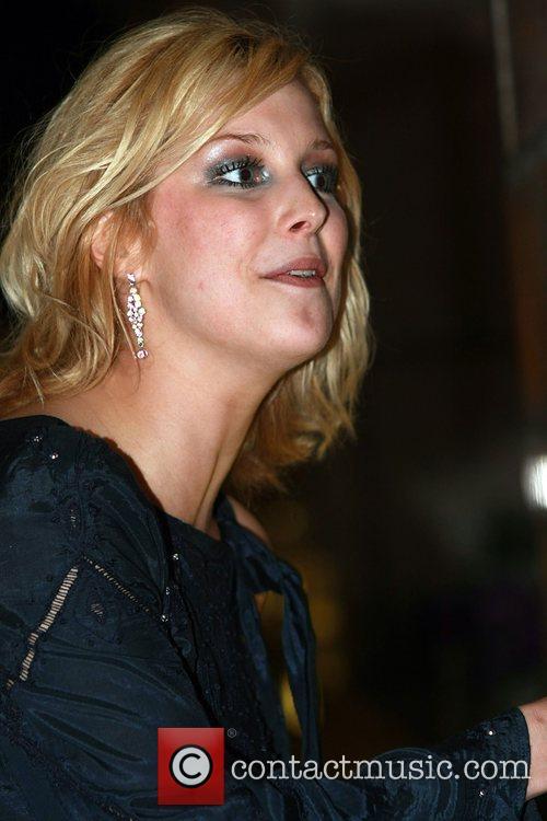 Gemma Bissix arrives at her hotel after the...