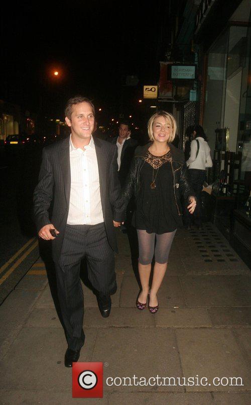 John Pickard and Sheridan Smith Celebrities arrive at...