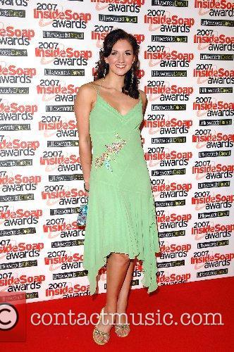 Summer Strallen Inside Soap Awards 2007 held at...