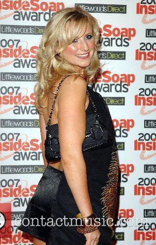 Carley Stenson Inside Soap Awards 2007 held at...
