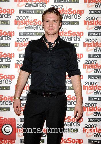 Chris Fountain Inside Soap Awards 2007 held at...