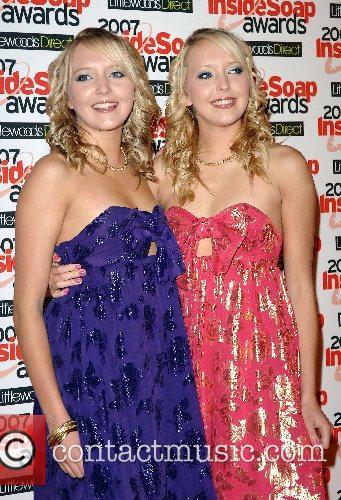 Amanda Marchant and Sam Marchant Inside Soap Awards...