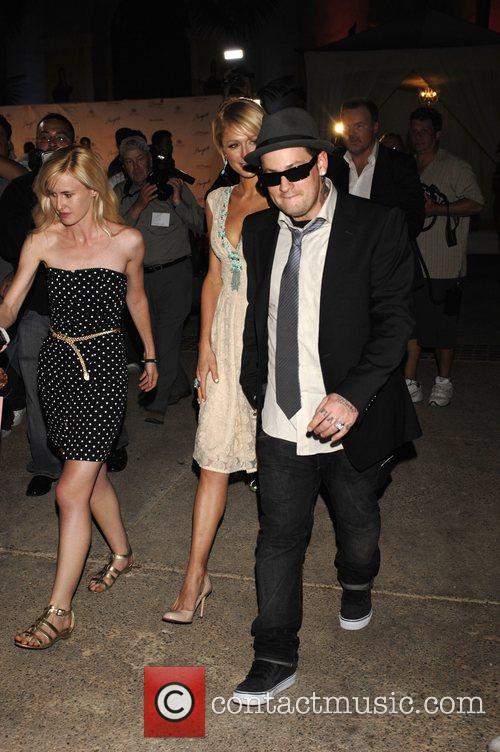 Paris Hilton and Joel Madden Sober Day USA...