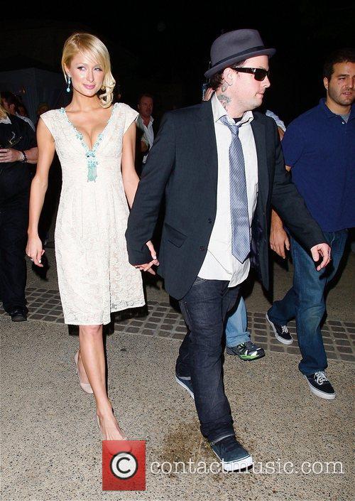 Paris Hilton, Benji Madden Sober Day USA 2008...