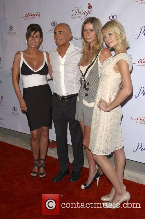 Linell Shapiro, Robert Shapiro, Nicky Hilton and Paris...
