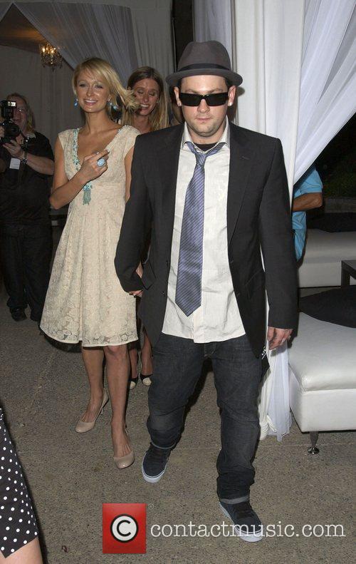 Paris Hilton and Benji Madden Sober Day USA...
