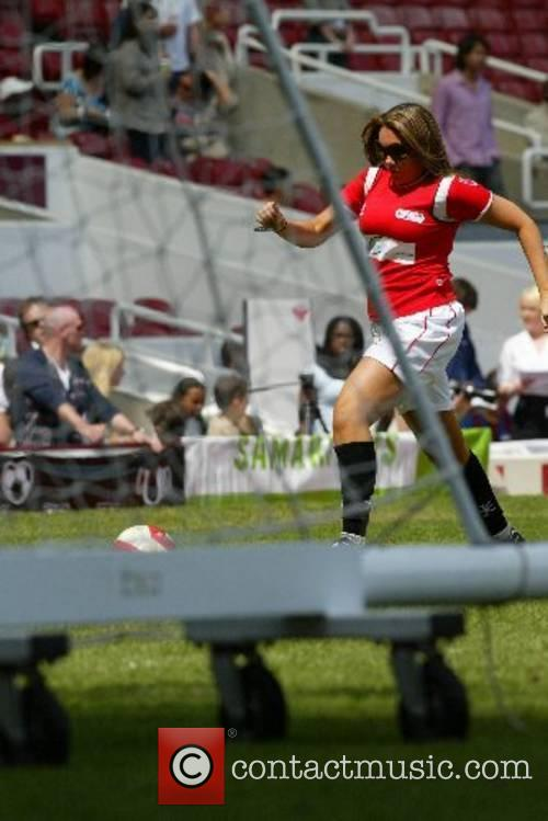 Michelle Scott-Lee (Michelle Heaton) Music Industry Soccer Six...