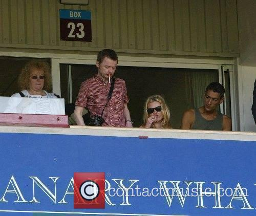 Kate Moss and friends Music Industry Soccer Six...