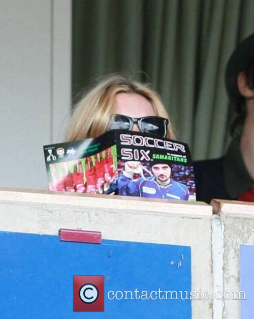Kate Moss Music Industry Soccer Six held at...