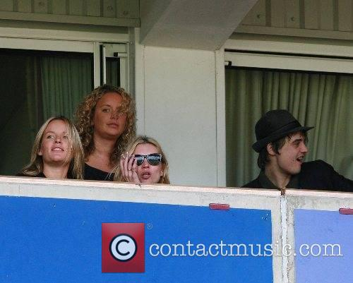 Kate Moss filming Pete Doherty and friends Music...