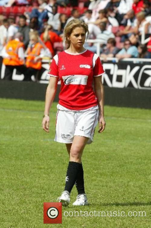 Bianca Gascoigne Music Industry Soccer Six held at...