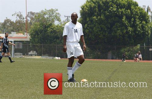 Jimmy Jean Louis 'Soccer For Survivors' celebrity soccer...