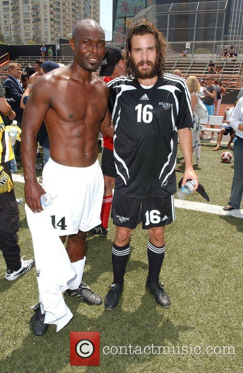 Jimmy Jean Louis and Santiago Cabrera 'Soccer For...