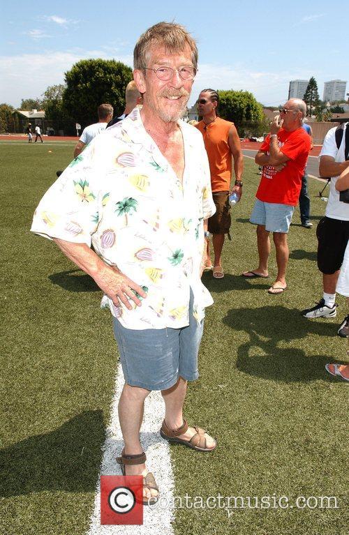 John Hurt 'Soccer For Survivors' celebrity soccer match...