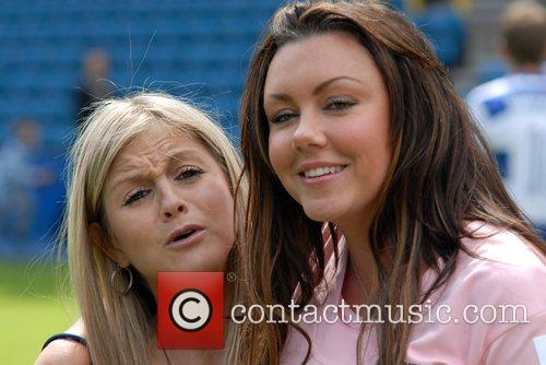 Michelle Heaton Soccer Six at Millwall FC London,...