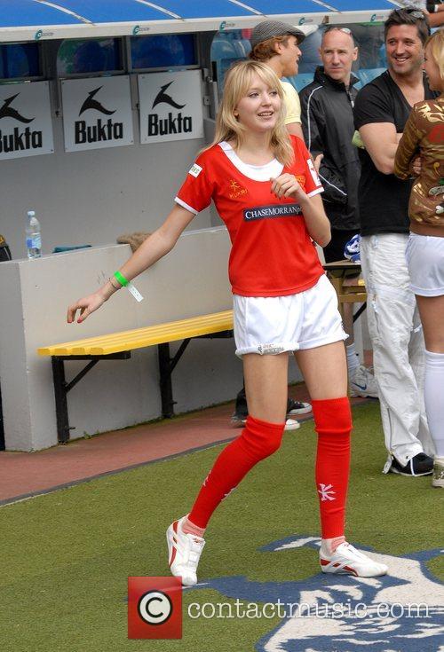 Samantha Marchant Soccer Six at Millwall FC London,...