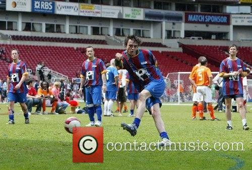 Final of the the Music Industry Soccer Six...