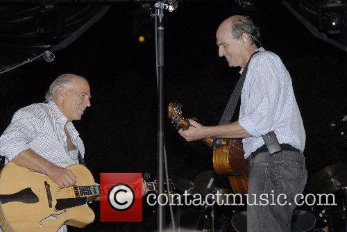 James Taylor and Jimmy Buffett Hampton Social at...